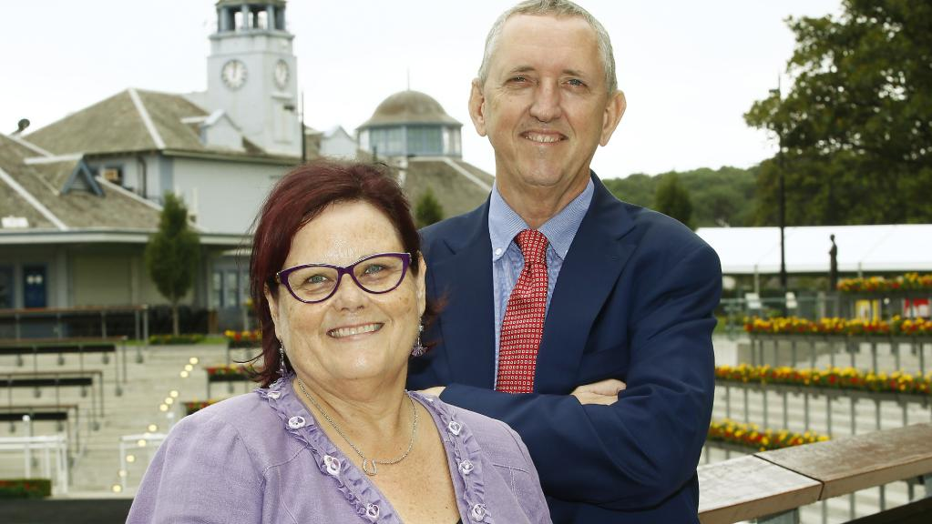 Debbie Kepitis and Peter Tighe Winx owners and trainers
